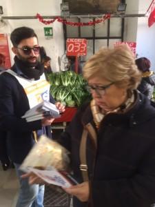 16 Marzo - Mercato via Nicolai