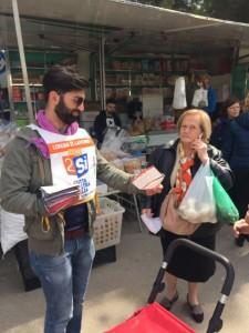 7 aprile - mercato di Turi